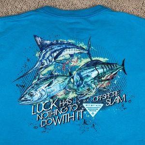 Columbia PFG Fishing T-Shirt Mens XXL